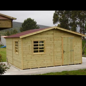 Agromarket s l caseta de jard n 480 x 480 cm modelo pic n for Caseta de herramientas jardin
