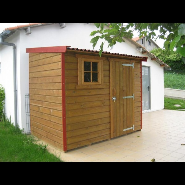 Agromarket s l caseta jard n modelo pic n 240 x 160 for Caseta de madera para jardin